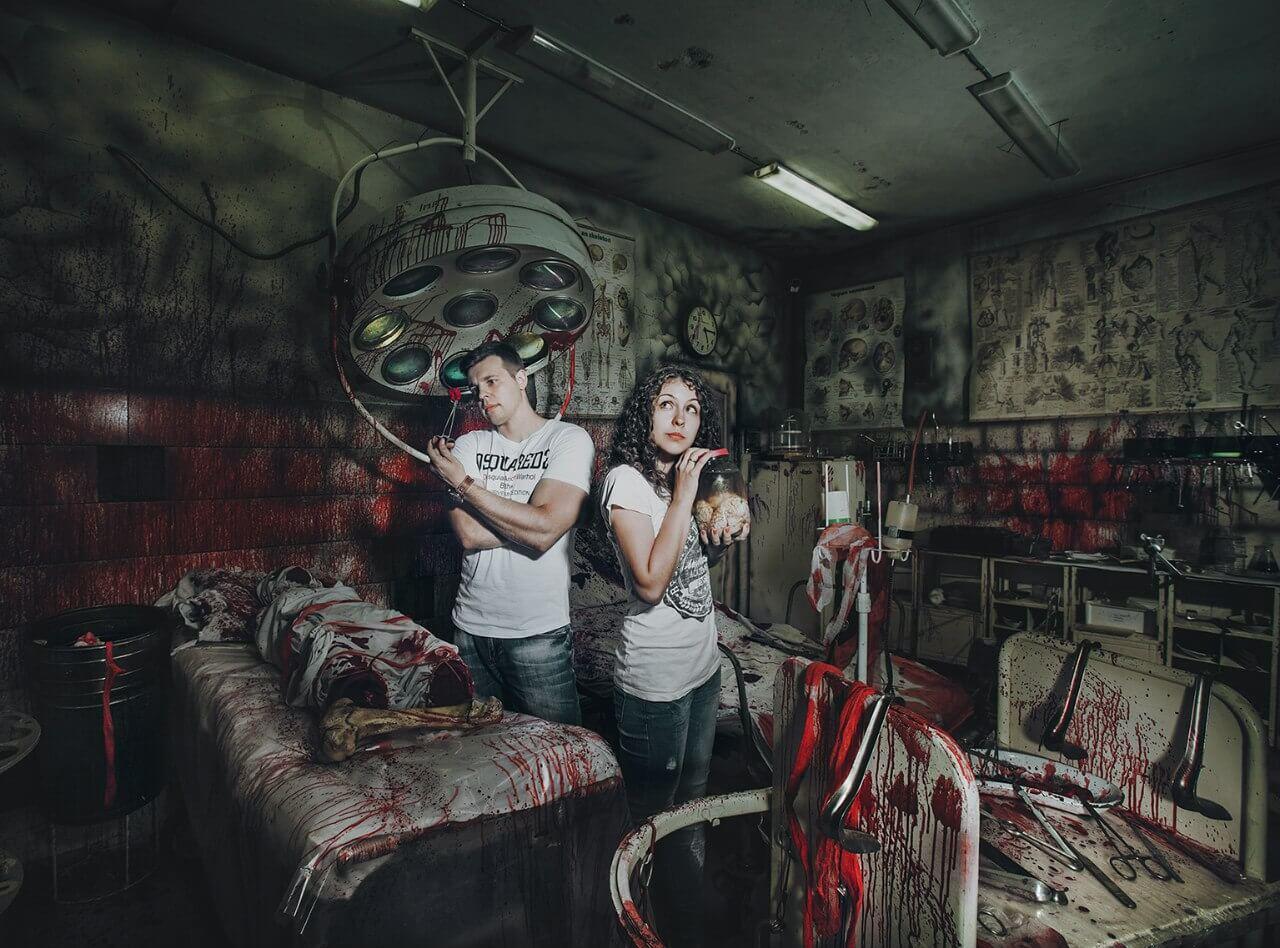 Комната страха фото